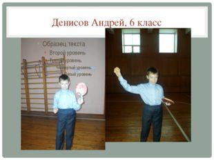 Денисов Андрей, 6 класс