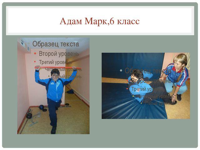 Адам Марк,6 класс