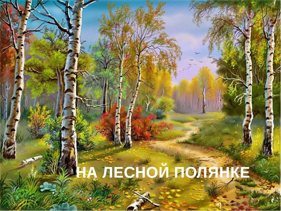 НА ЛЕСНОЙ ПОЛЯНКЕ