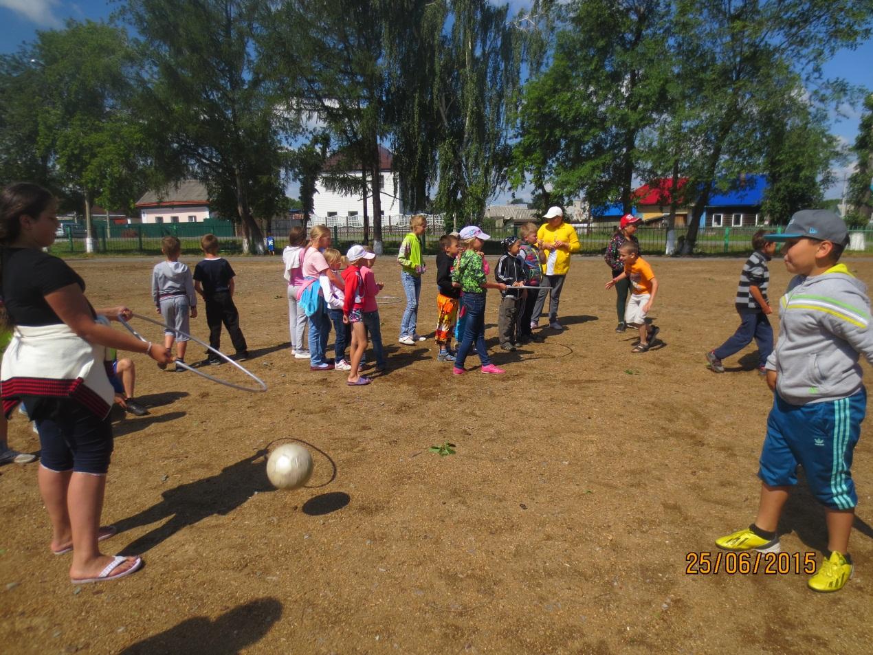 Сценарий спортивных соревнований в летнем лагере