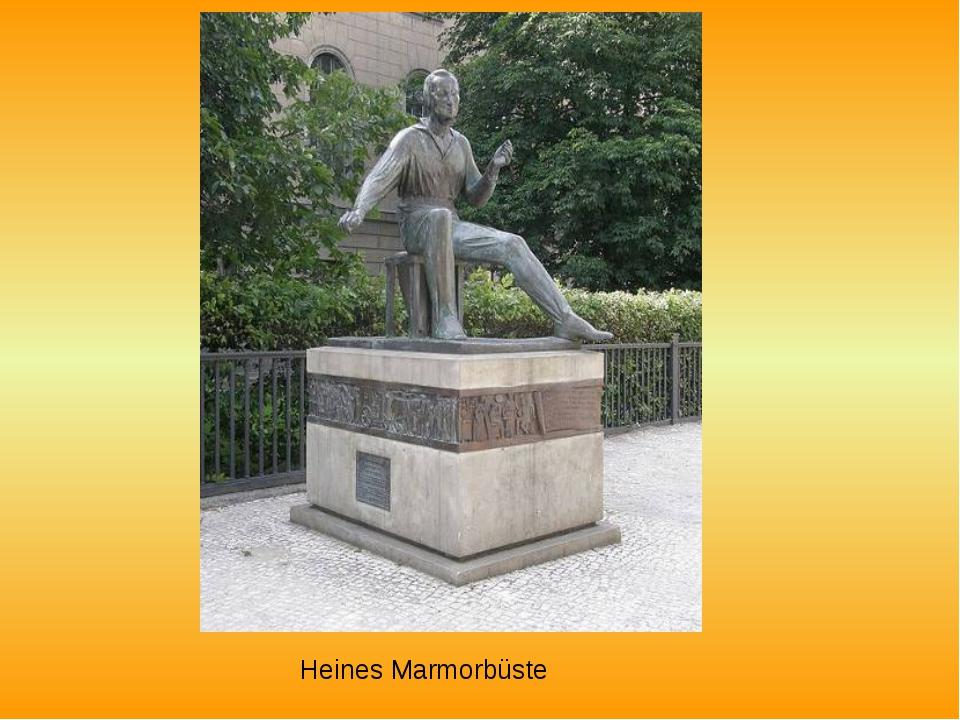 Heines Marmorbüste