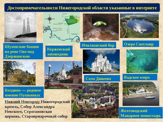 Болдино — родовое имение Пушкиных Достопримечательности Нижегородской области...
