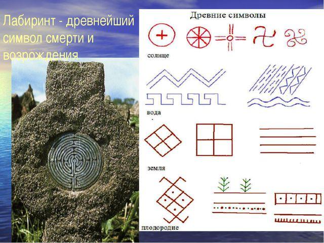 Лабиринт - древнейший символ смерти и возрождения