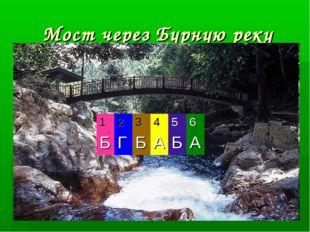 Мост через Бурную реку