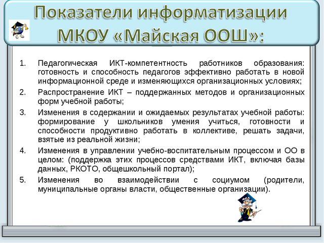 Педагогическая ИКТ-компетентность работников образования: готовность и способ...