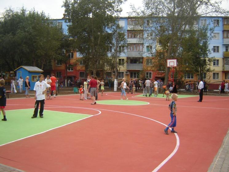 Спортплощадки, покрытие спортивные площадки, покрытие спортплощадок