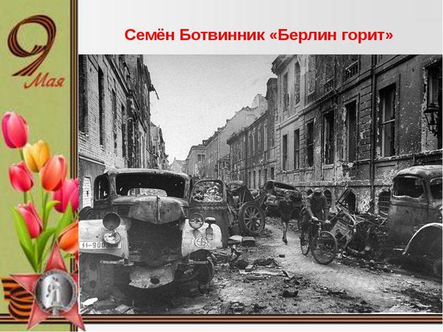 Семён Ботвинник «Берлин горит»