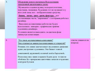* 3.Объяснение нового материала Использование электронной презентации к урок
