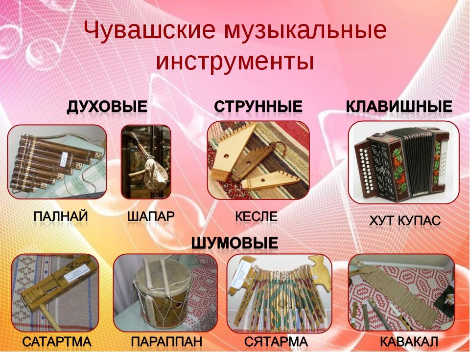 Чувашские музыкальные инструменты