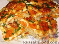 Фото приготовления рецепта: Рыба, запеченная под