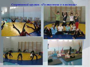 Спортивный кружок «Гимнастика и пластика»
