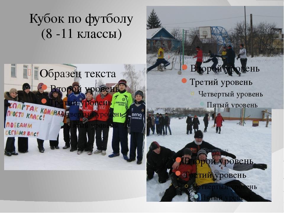 Кубок по футболу (8 -11 классы)
