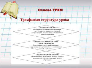 Трехфазная структура урока