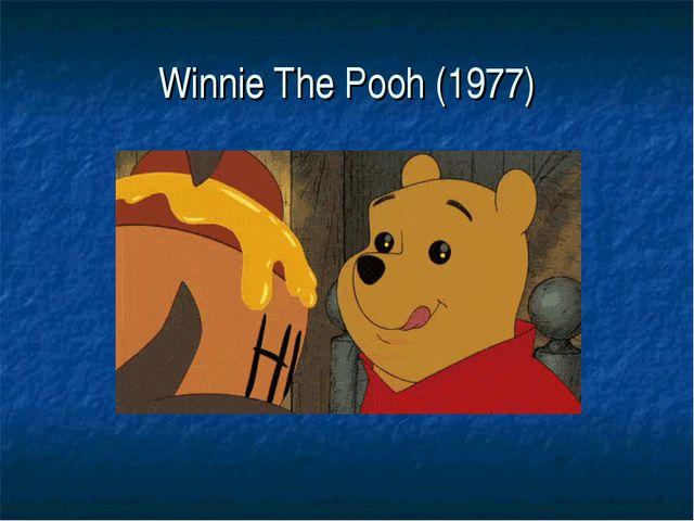 Winnie The Pooh (1977)