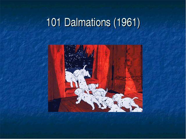 101 Dalmations (1961)