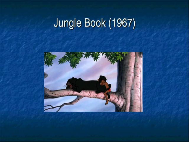 Jungle Book (1967)