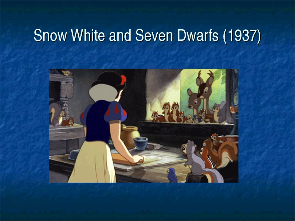 Snow White and Seven Dwarfs (1937)