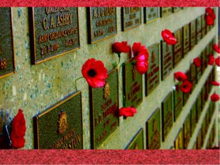 В Англии существует национальный праздник – День Маков – дань памяти погибшим