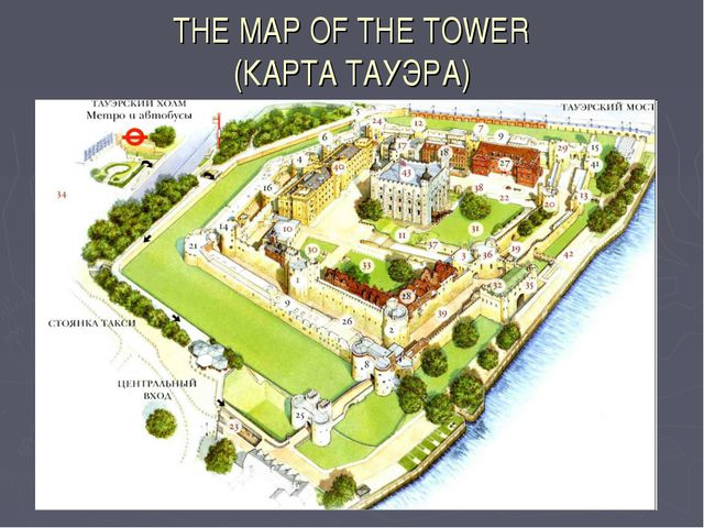 THE MAP OF THE TOWER (КАРТА ТАУЭРА)