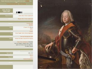 отец ПортретКристианаАвгуста Ангальт-Цербстского кистиАнтуанаПэна, 1725. Гос