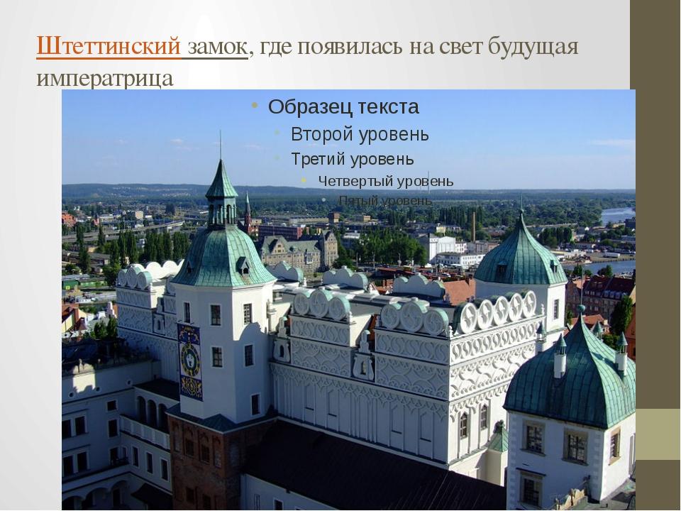 Штеттинский замок, где появилась на свет будущая императрица