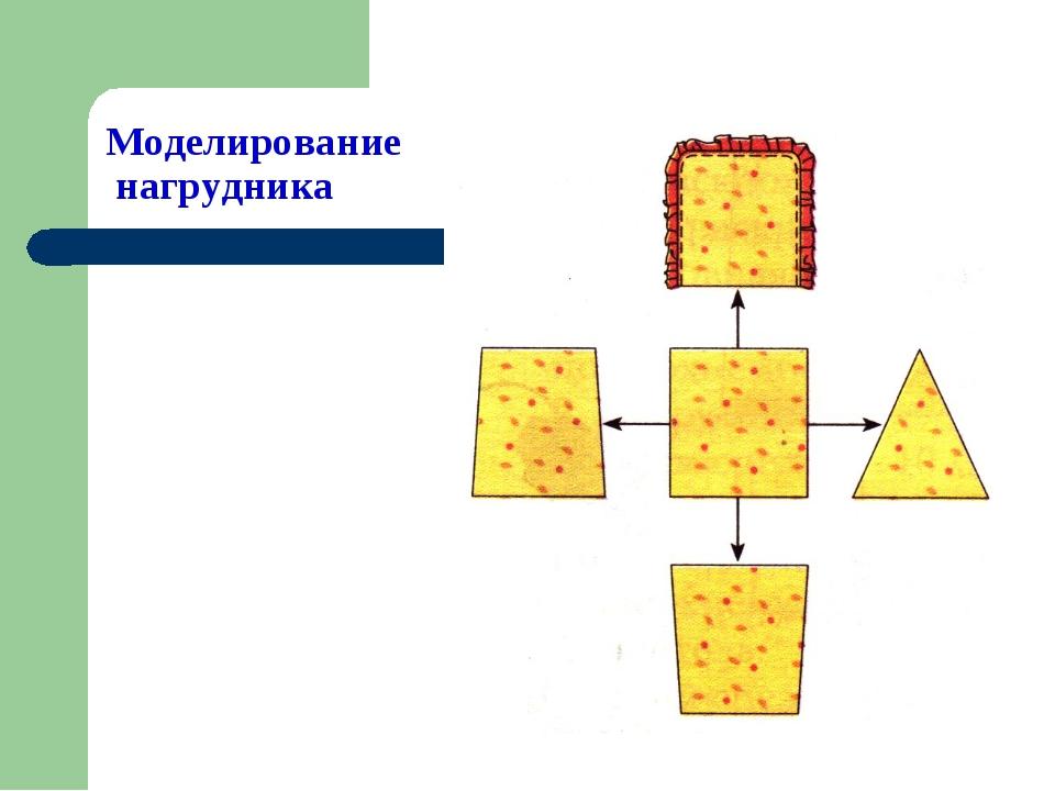 Моделирование нагрудника