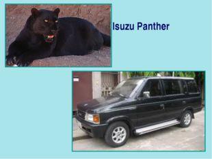 Isuzu Panther