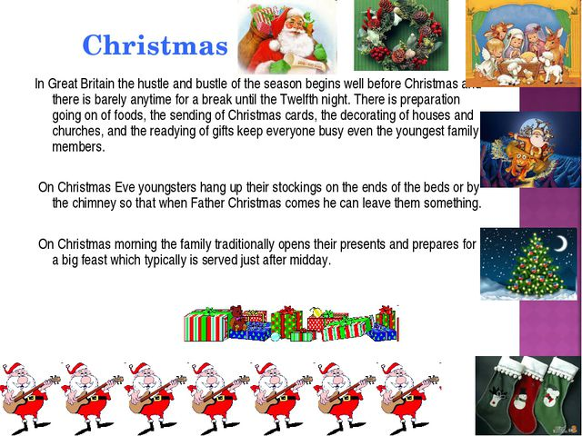 Christmas In Great Britain the hustle and bustle of the season begins well be...