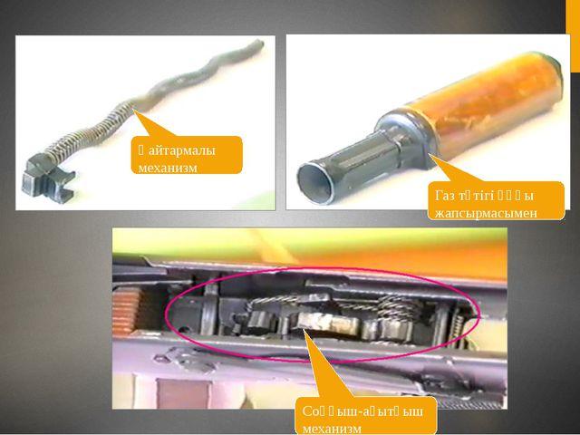 Қайтармалы механизм Газ түтігі ұңғы жапсырмасымен Соққыш-ағытқыш механизм
