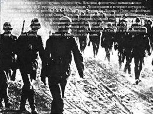 Значение битвы за Тихвин трудно переоценить. Немецко-фашистское командование