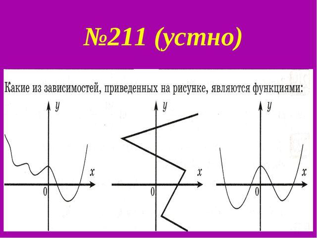 №211 (устно)