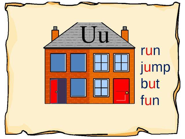 Uu run jump but fun
