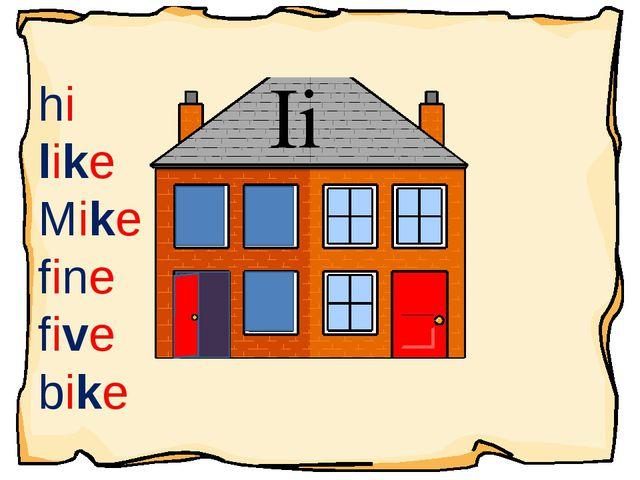 Ii hi like Mike fine five bike