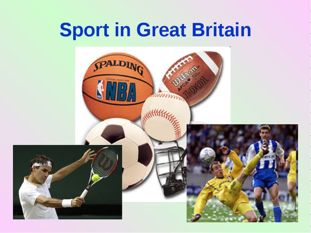 Sport in Great Britain