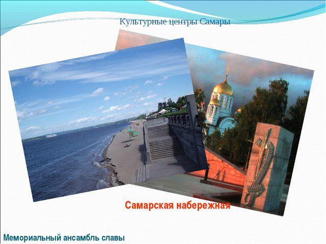 Культурные центры Самары Мемориальный ансамбль славы Самарская набережная