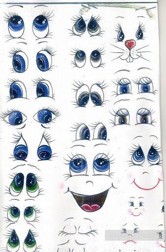 Урок рисования глаз