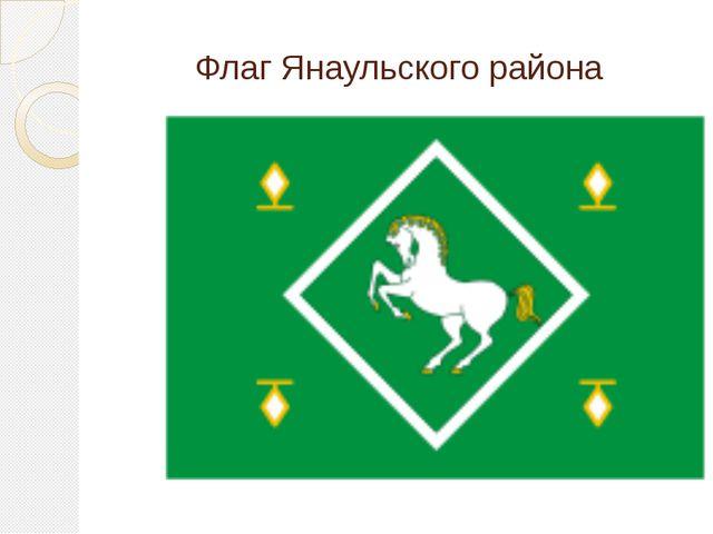 Флаг Янаульского района