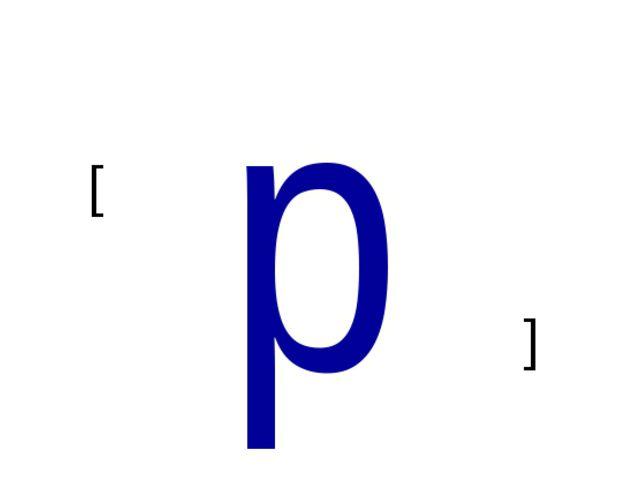 p [ [