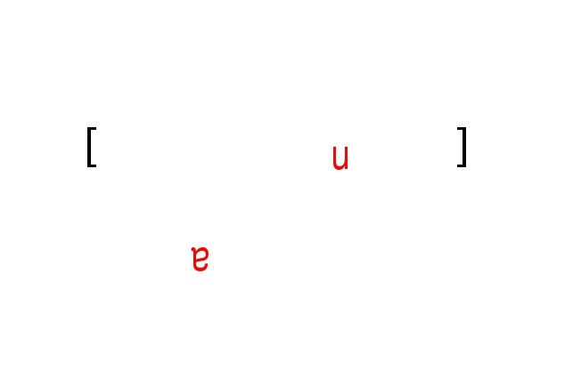 a [ ] u