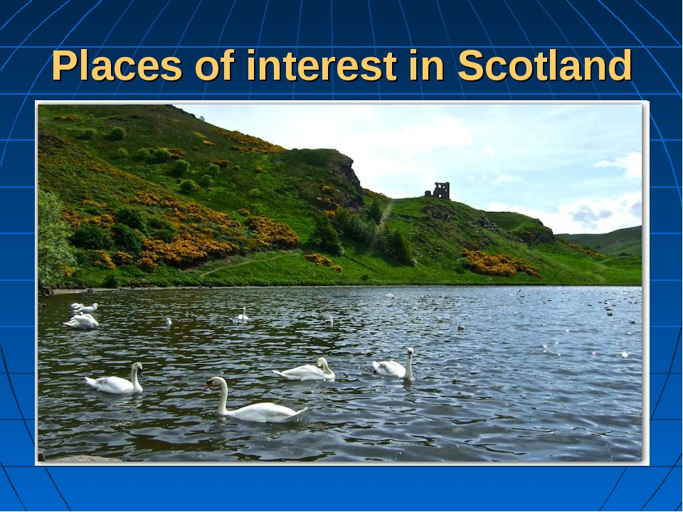 Places of interest in Scotland