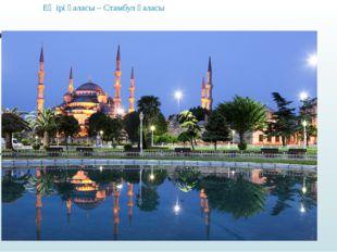 Ең ірі қаласы – Cтамбул қаласы
