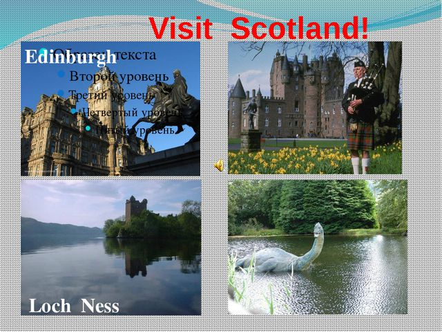 Visit Scotland! Edinburgh Loch Ness