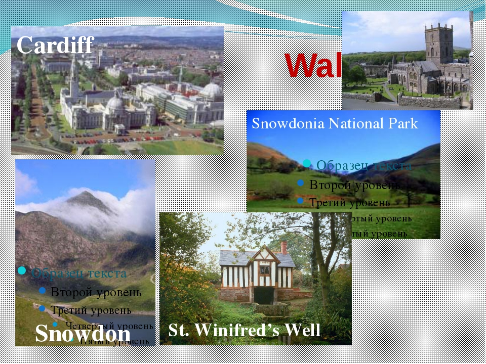 Wales Cardiff Snowdon Snowdonia National Park St. Winifred's Well