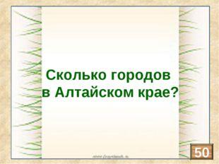 Барнаул, Бийск, Новоалтайск, Рубцовск, Белокуриха, Славгород, Камень-на-Оби,