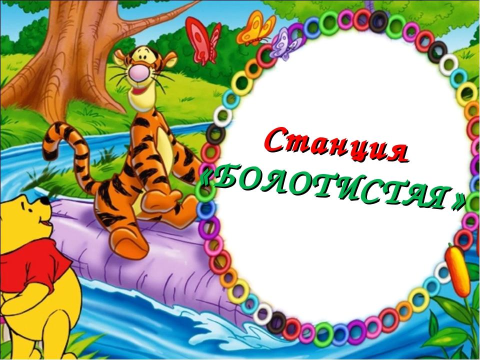 Станция «БОЛОТИСТАЯ»