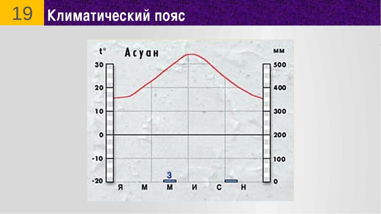 Климатический пояс 19