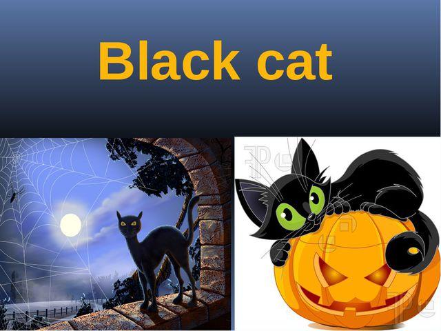 Black cat Автор: Евдокимова А.В.