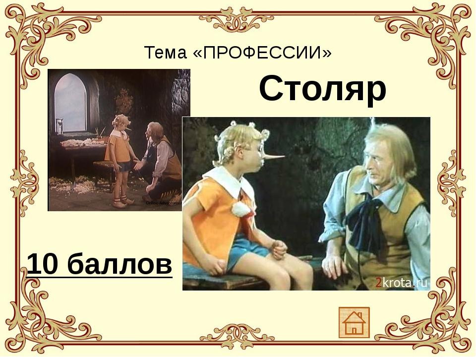Тема «ПРОФЕССИИ» Именно им по профессии был Стекляшкин из Цветочного города....