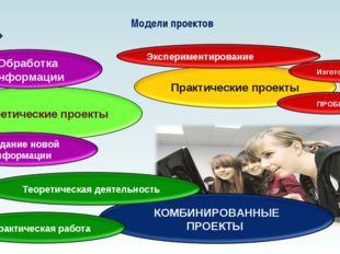 Модели проектов