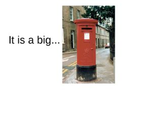 It is a big...